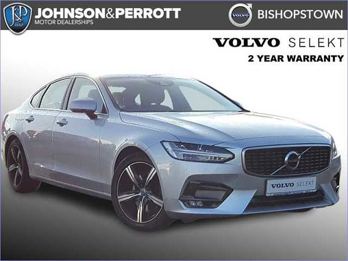 Volvo S90 D4 R-Design Auto (Rear Parking Camera, Heated Seats, LED Headlights)